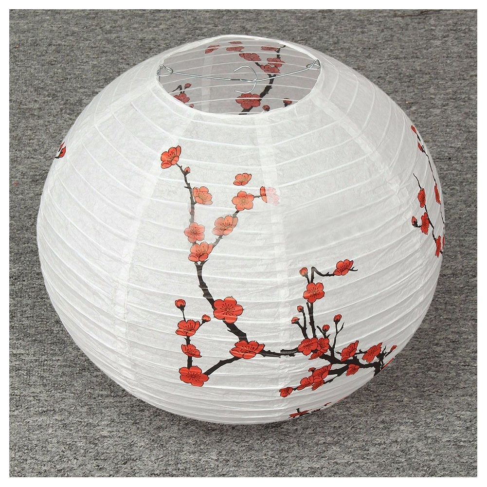 14'' Lamp Shade Paper Lantern Oriental Style Light Decoration
