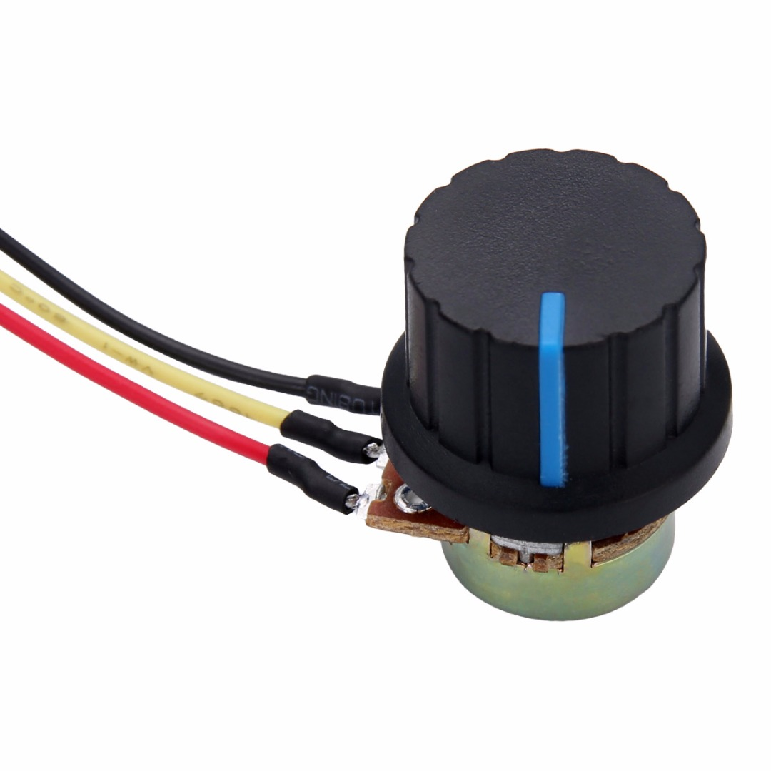 1pc High Torque 6-30V DC Motor Speed Controller 80W Reversible PWM Forward / Reverse Switch With Potentiometer Mayitr