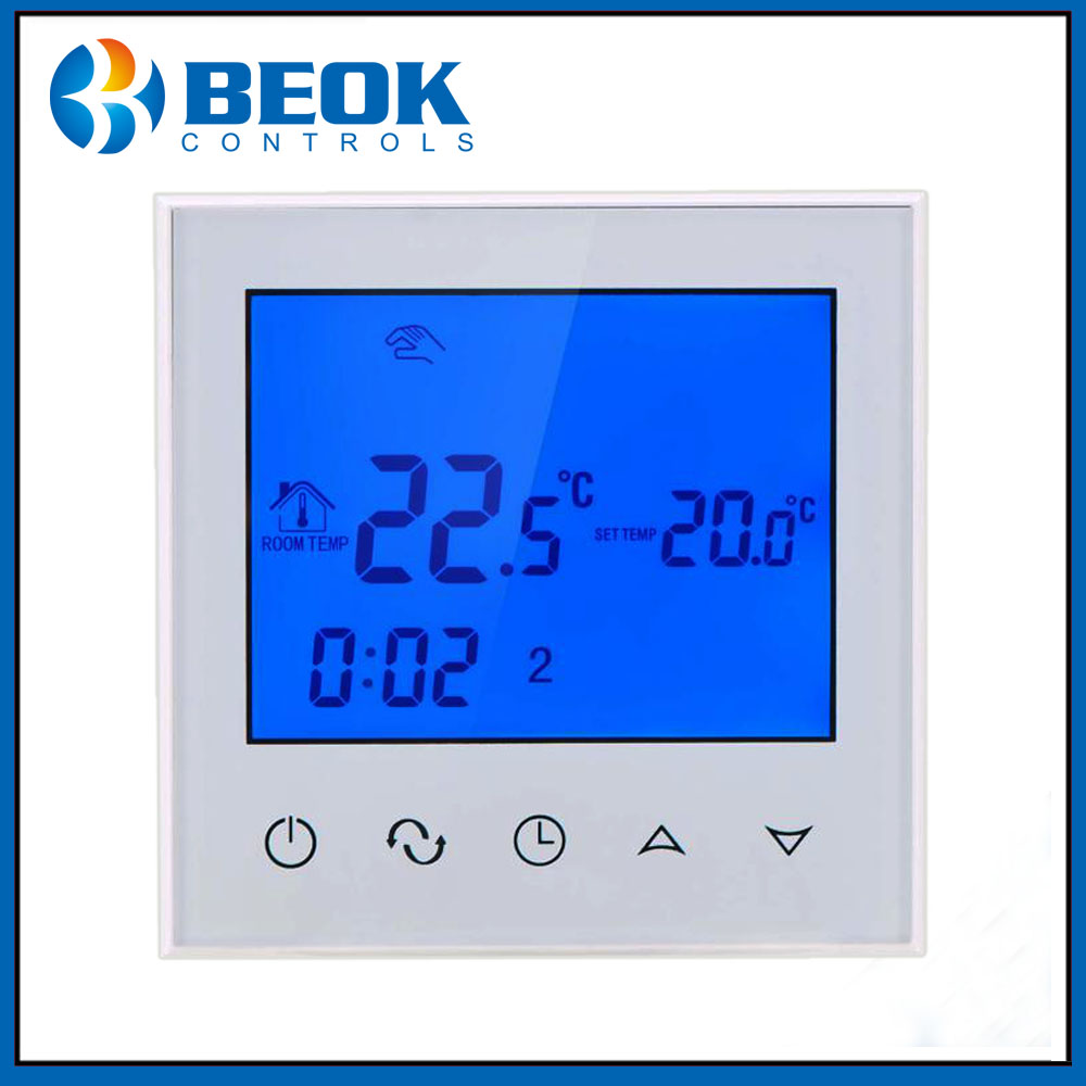 Beok TDS21 Thermostat for Water and Electric Underfloor Heating Digital Thermostat Temperature 220V
