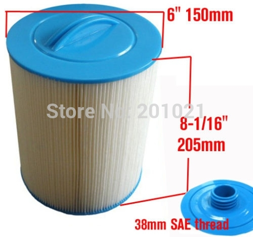 spa filter element Unicel 6CH-940 Pleatco PWW50 205mmx150mm,with38mm hole hot tub filter cartridge system element