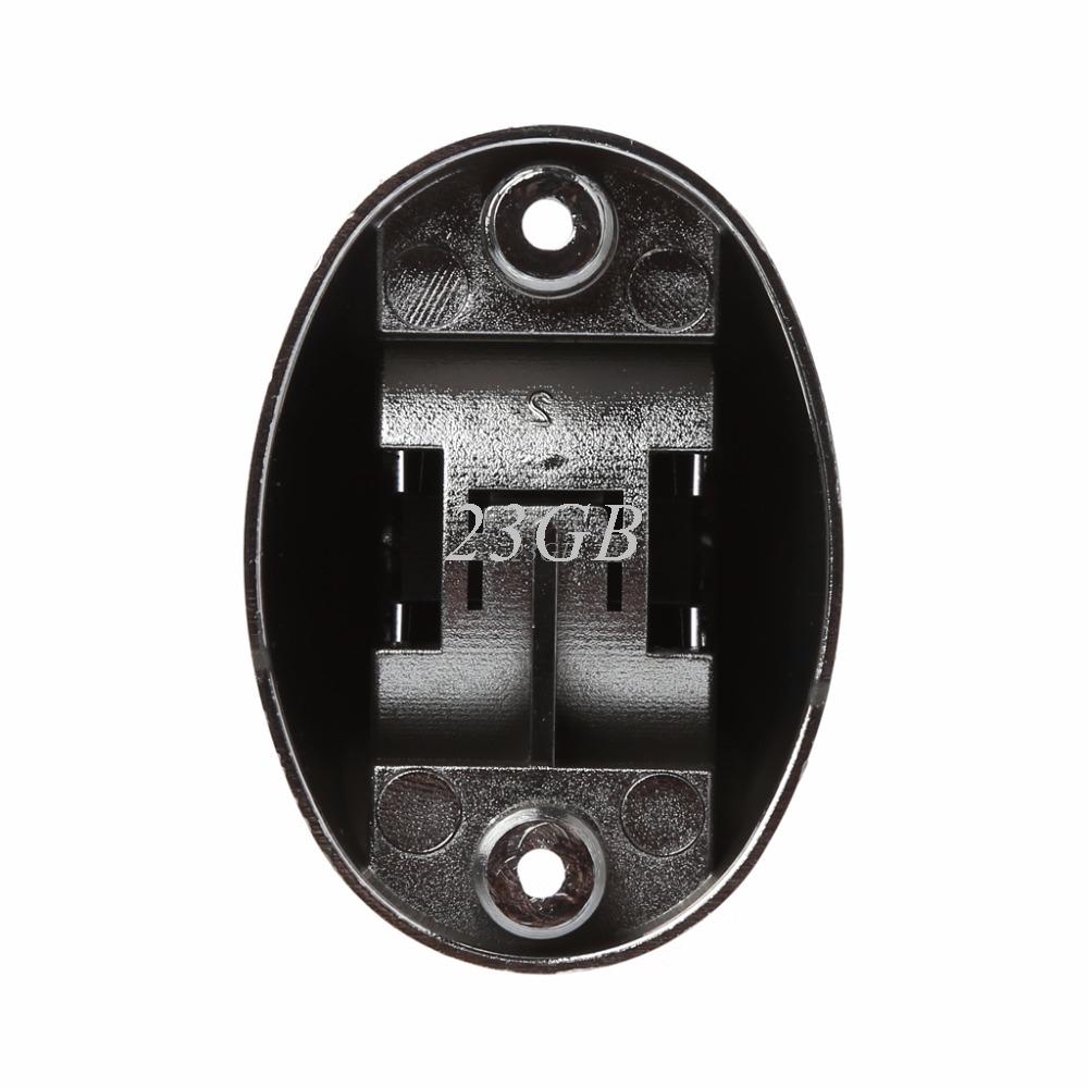 Chrome Bathroom Shower Base Holder Adjustable Hose Wall Mount Head Stand Bracket