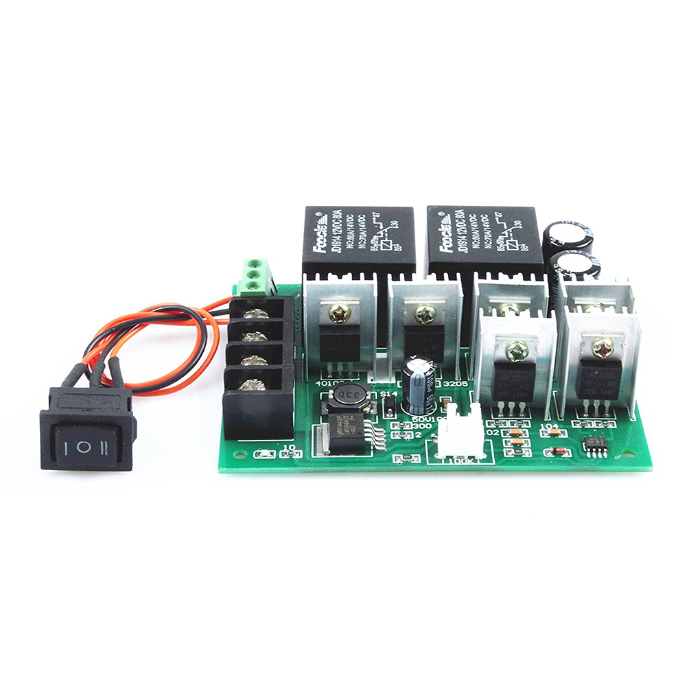 pwm speed electronic 40A DC12V / 24V / 36V / 48V Brushed motor controller Maximum Power of 2000W Third gear forward/reverse/stop