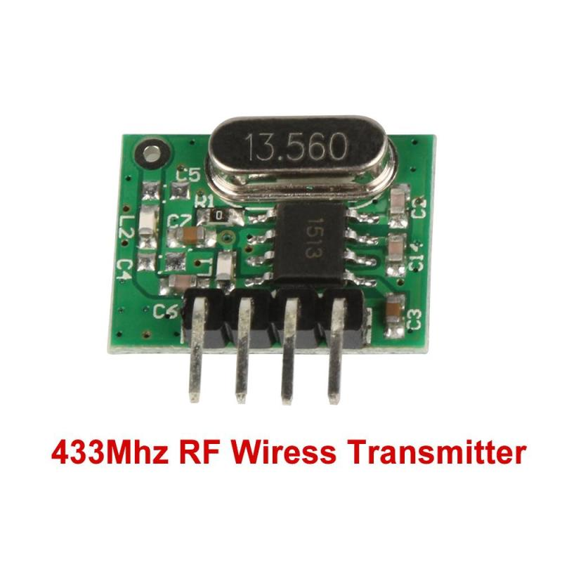 QIACHIP 433mhz Mini Low Power RF Relay Receiver + Transmitter Module