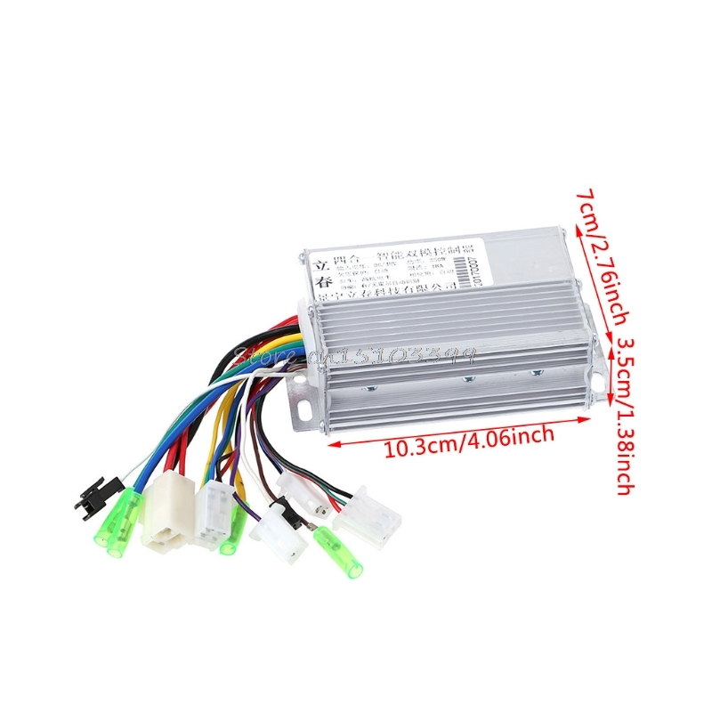 Hot Selling 36V/48V 350W Electric Bicycle E-bike Scooter Brushless DC Motor Controller New #G205M# Drop shipping