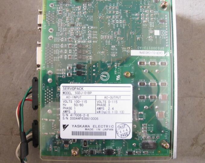 Servo driver SGDJ-01BP   , Used  one , 90% appearance new  ,  3 months warranty , fastly shipping