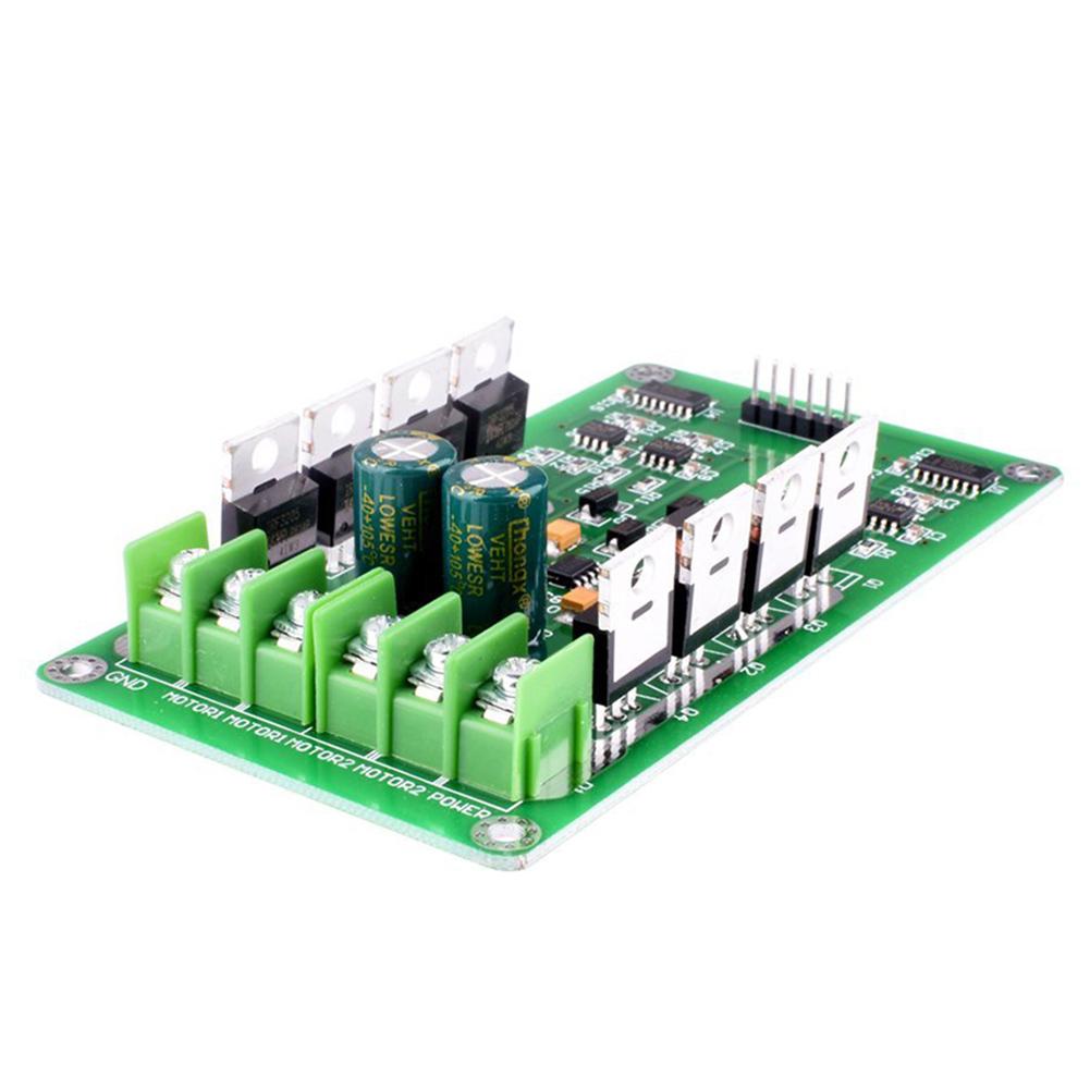 Dual Motor Driver Moduledc H Bridge 3 36v 15a Pwm Module Circuit Amplifier It Is Such A Complete Hbridge