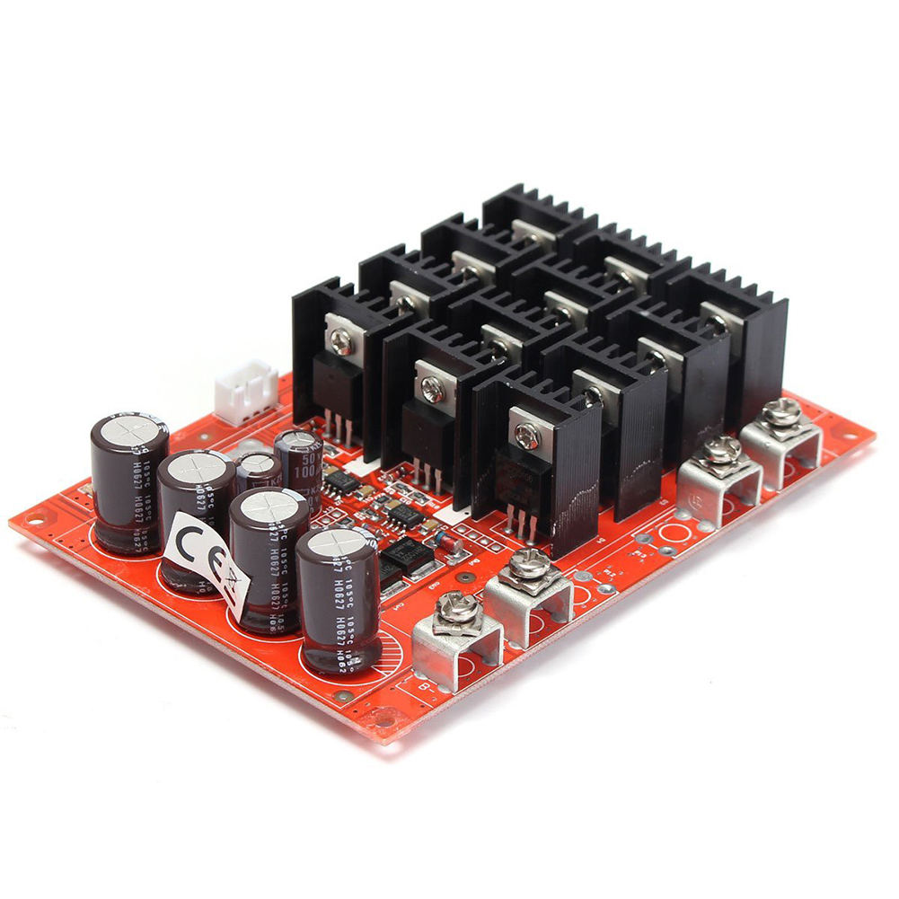 DC 10-50V 60A High Power Motor Speed Controller PWM HHO RC
