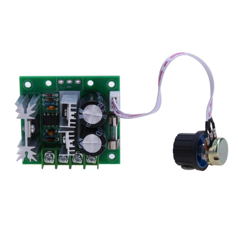 Universal 1 Set DC 12V ~40V 400W 10A Reversing Switch Adjustable DC Motor Speed Controller PWM Controller Well Working