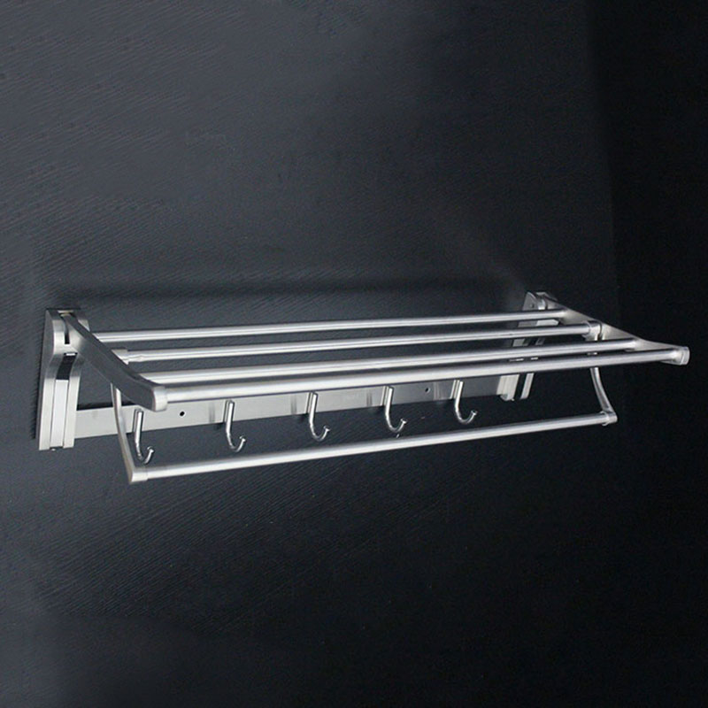 60cm 304 stainless steel bathroom towel rack folding towel rack bathroom bathroom