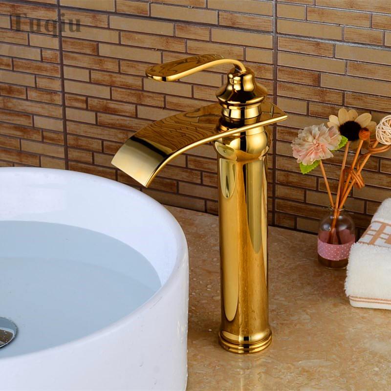 Gold/chrome/black/rose gold bathroom sink faucet single handle ...