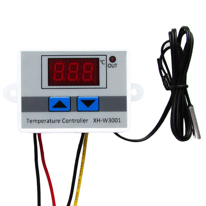 -50~110C Intelligent Digital Thermostat AC 220V 12V 24V 10A Digital Temperature Controller Regulator Switch