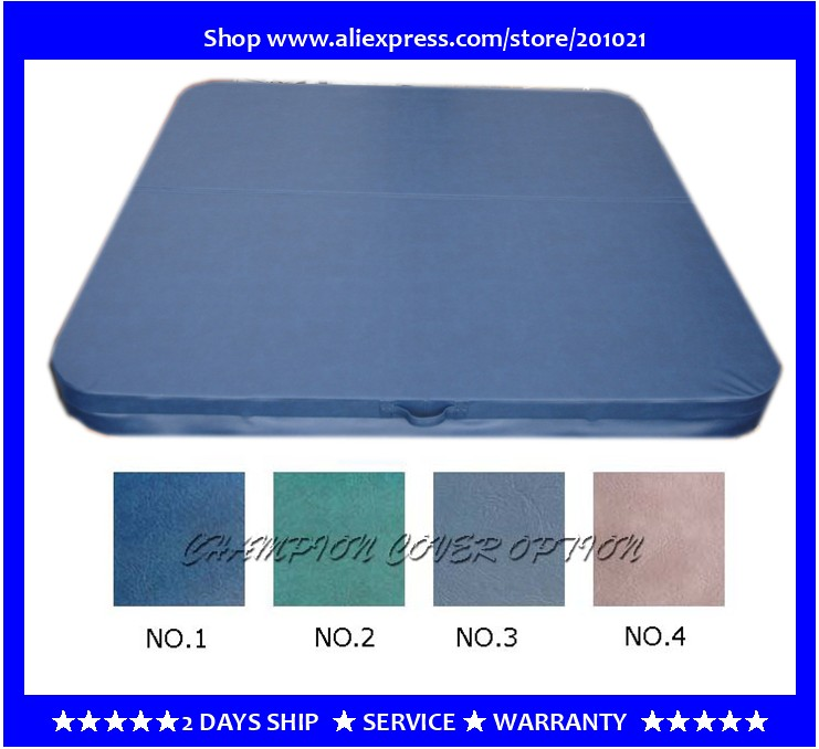 2320mmX2320mm hot tub spa cover leather skin , can do any other size