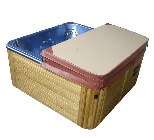 1940mmX1540mm 2-3 person hot tub spa cover leather skin , can do any other size