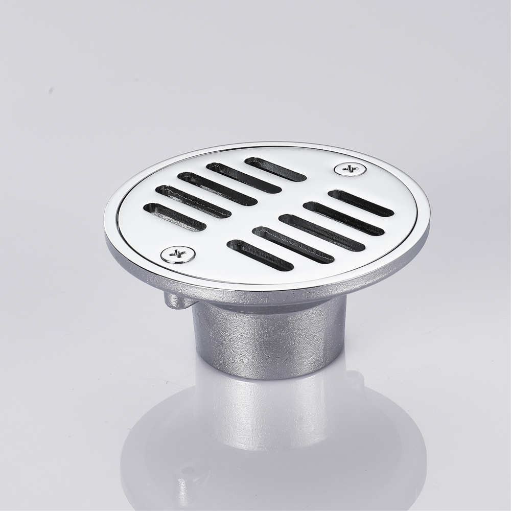 HIDEEP Tile Insert Round Floor Drain Grates Bathroom Invisible Sliver Bathroom Shower Deodorization Type Shower Drain Cover