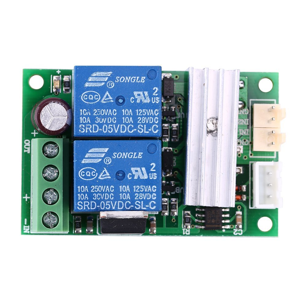 6V 12V 24V DC 3A DC Motor Speed Controller (PWM) Speed Adjustable Reversible Switch DC Motor Driver Reversing