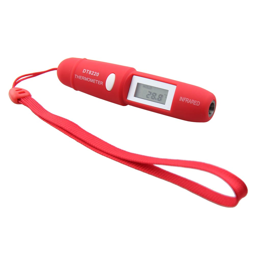 Pen Type Non-Contact Infrared IR Digital LCD Thermometer with Battery ALI88