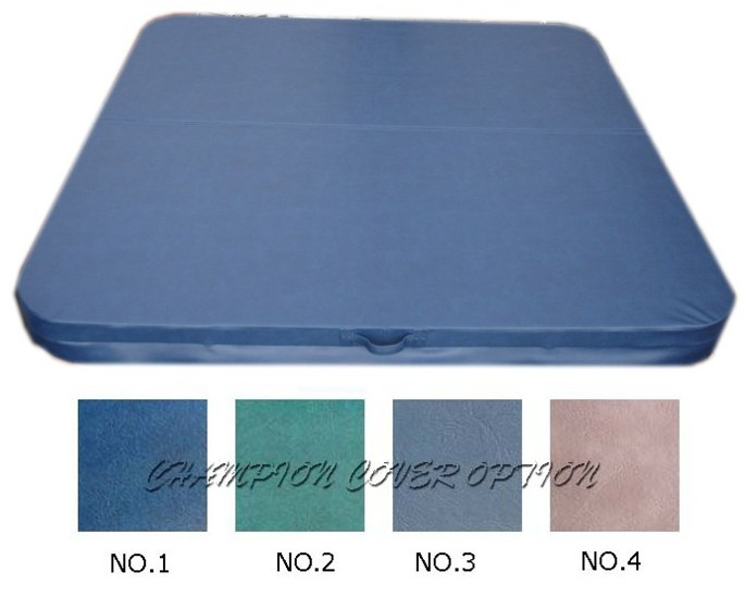hot tub spa cover leather skin 2130mmX2130mm  , can do any other size