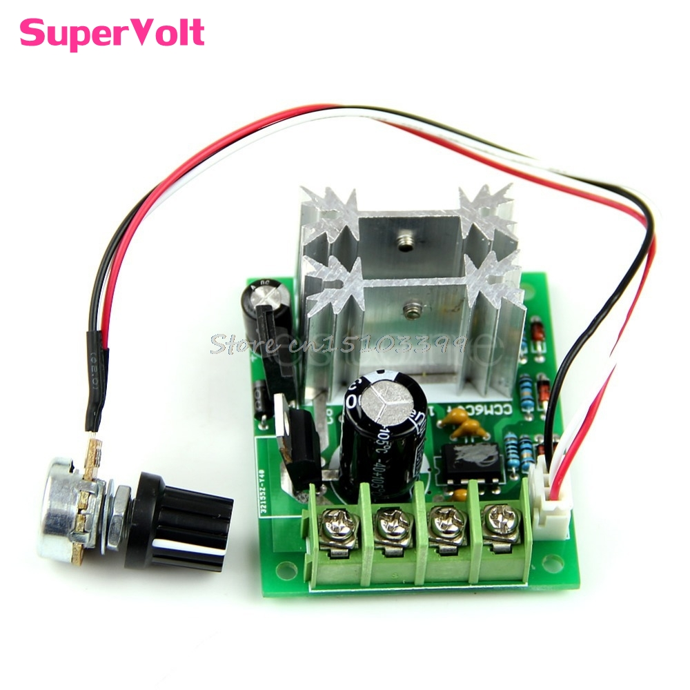 6V/12/24V 10A Pulse Width Modulator PWM DC Motor Speed Control Switch Controller -B119