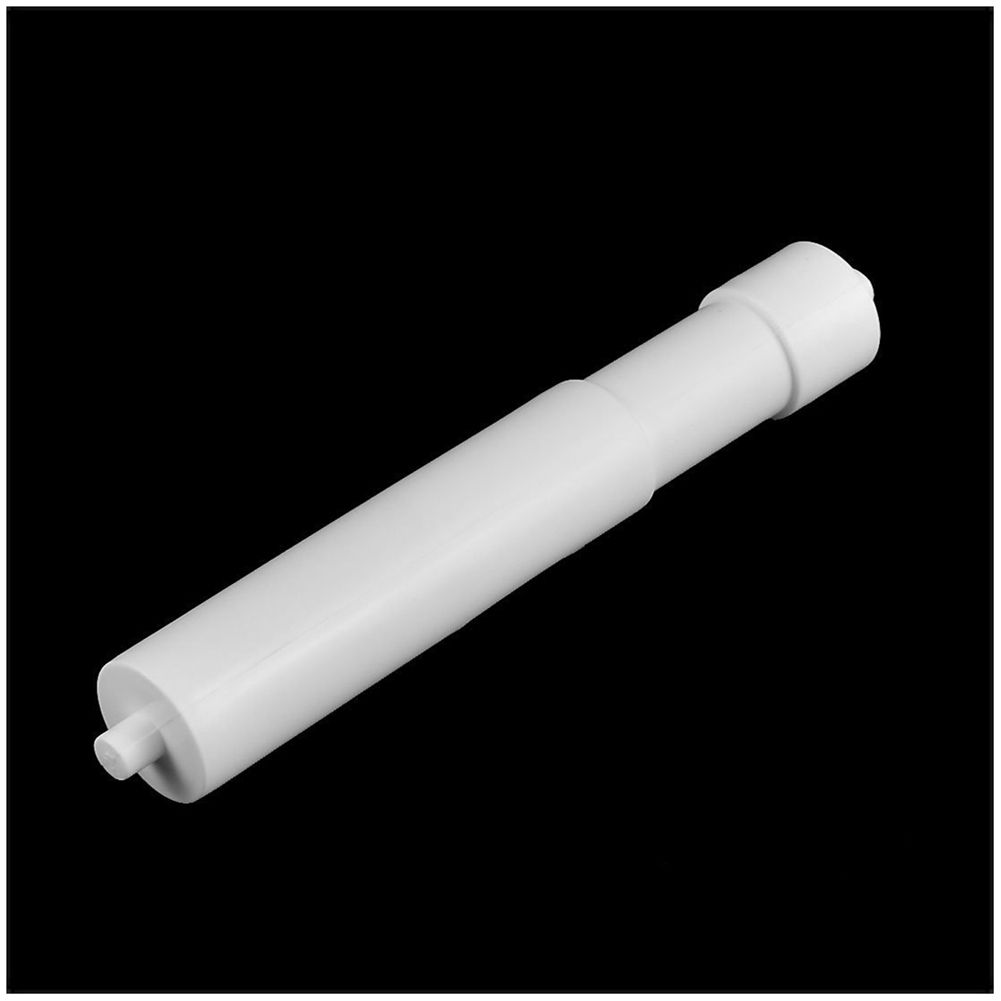 Plastic Hotel Bathroom Telescopic Toilet Paper Replacement Roller White