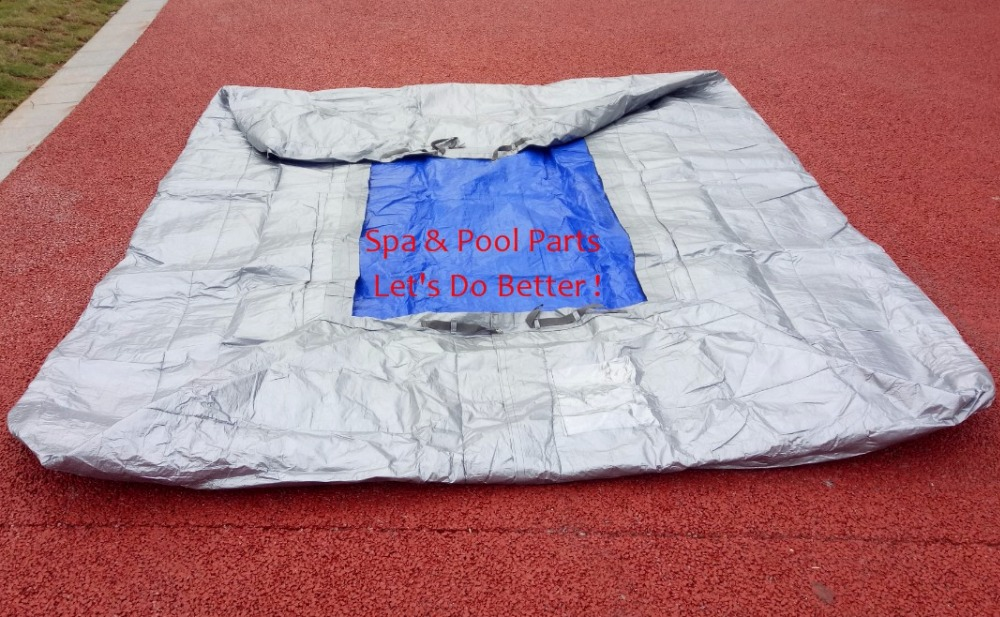 HOT TUB SPA  Insulated COVER BAG 2500x2400x900mm  Insulated UV Weatherproof