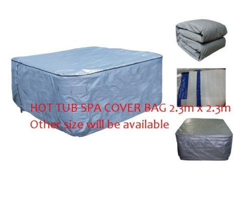 HOT TUB SPA  Insulated COVER BAG 2300x2300x900mm  Insulated UV Weatherproof