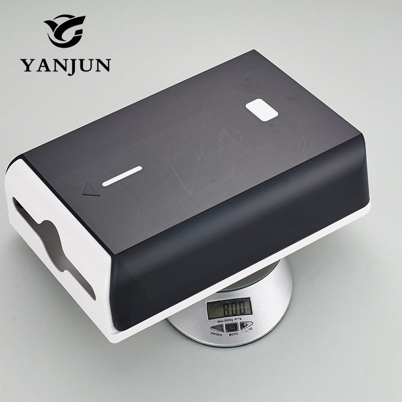 Yanjun Wall Mounted High Capacity Toilet Paper Holder WC Paper Towel Holder Tissue Dispenser  Bathroom Accessories YJ-8652