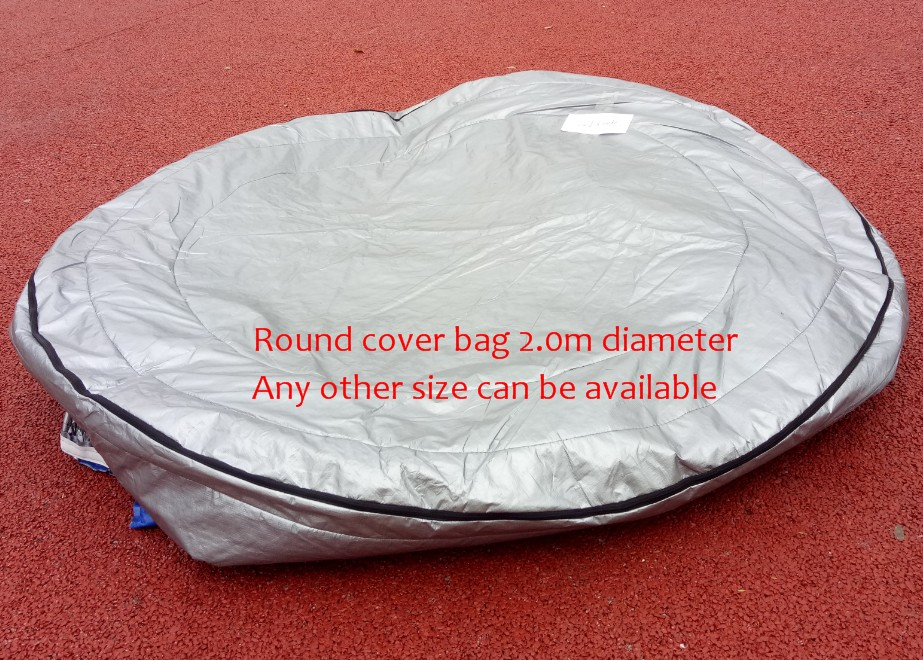 ROUND hot tub spa cover UV insulated Cover bag  diameter 200cm x 90cm high Other Size can be available
