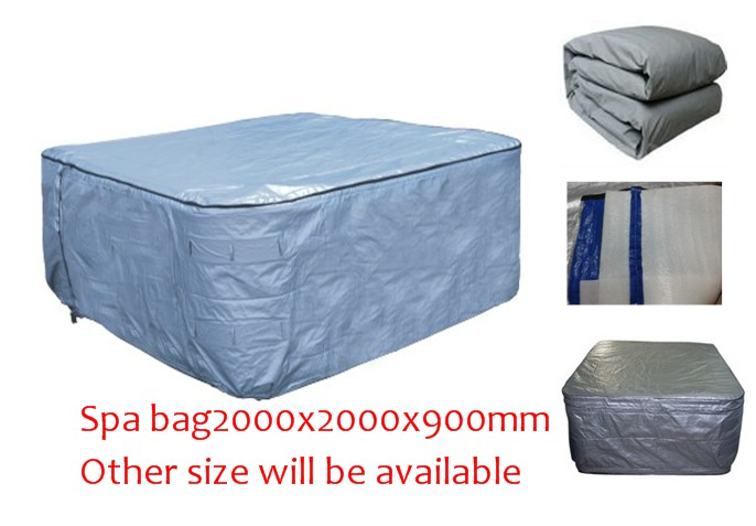 HOT TUB SPA  Insulated COVER BAG 200x200x90cm  Insulated UV Weatherproof