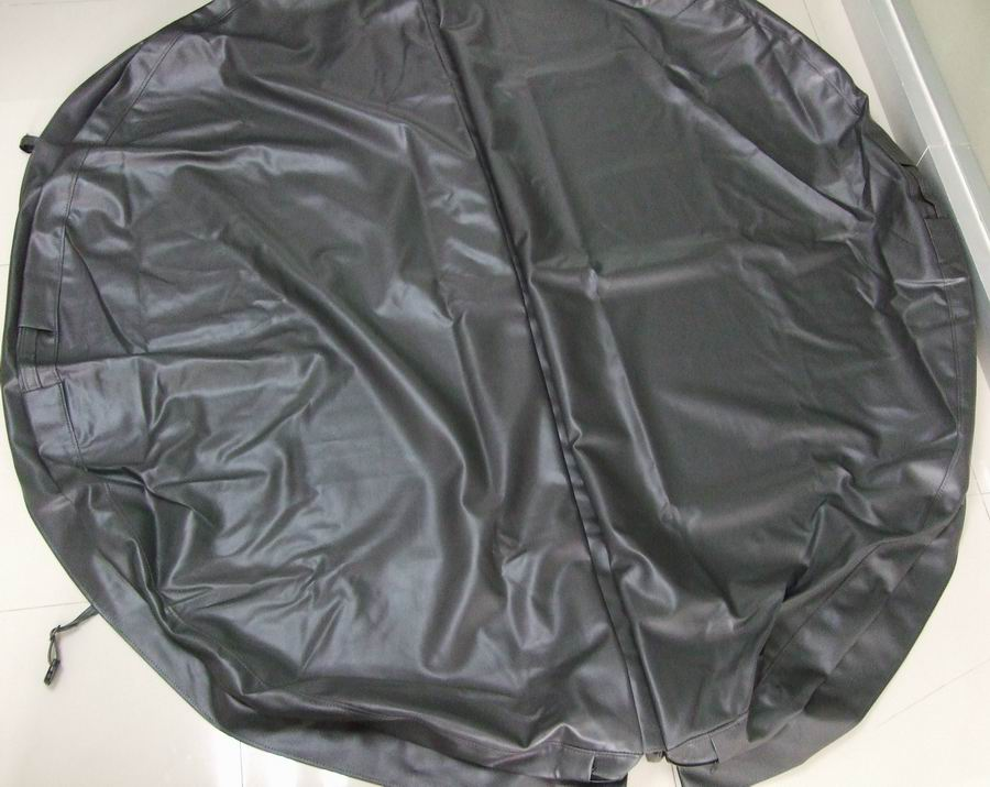 Diameter 2300mm 10cm thickness Round hot tub cover leather can do any other size
