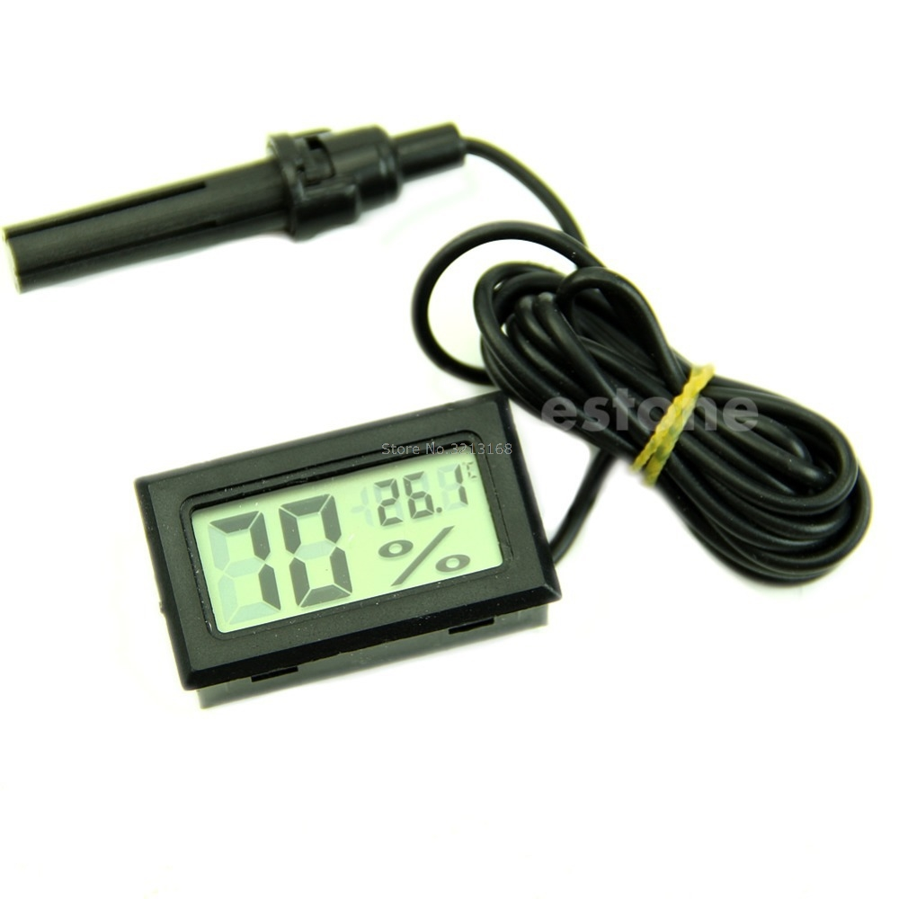 Mini Thermometer Hygrometer Temperature Humidity Meter Digital LCD DisplayFor Promotion