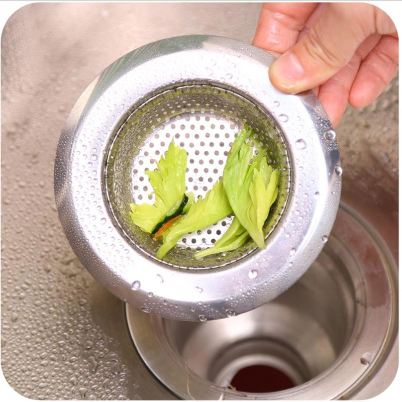 NEW Mesh Kitchen Stainless Steel Sink Strainer Disposer Plug Drain Stopper Filter  H15