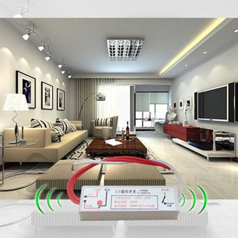 110V-220V Smart Remote Control Switch RF 315MHz Wifi FireWire Wireless Wall Light Learning Type Switch Via Broadlink RM2 RM Pro