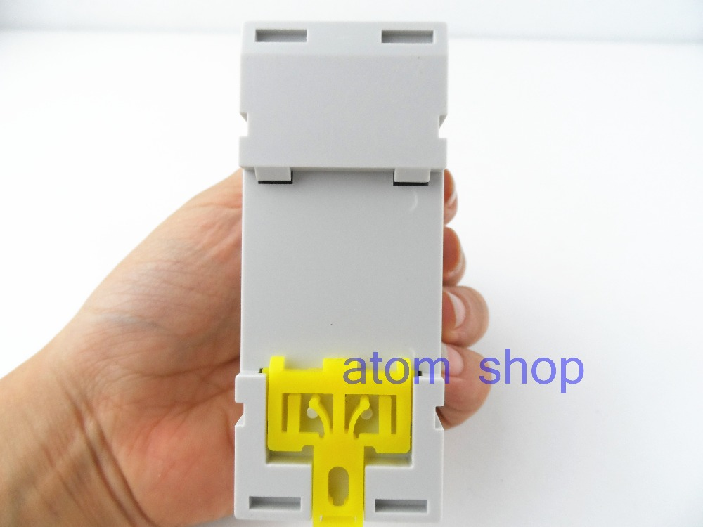 50pcs thc15a Din rail timer relay time switches weekly programmble electronic TIME SWITCH  bell ring device