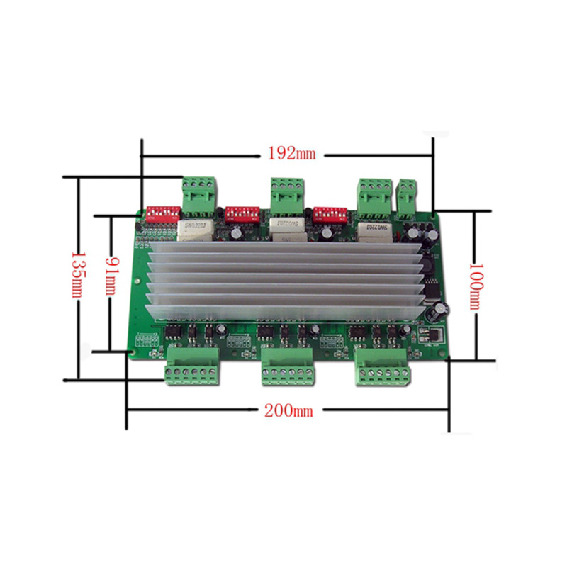High Quality 42/57  Stepper Motor Driver Low Noise  Three Axis 3A CNC Controller 2Phase 4 Phase THB7128