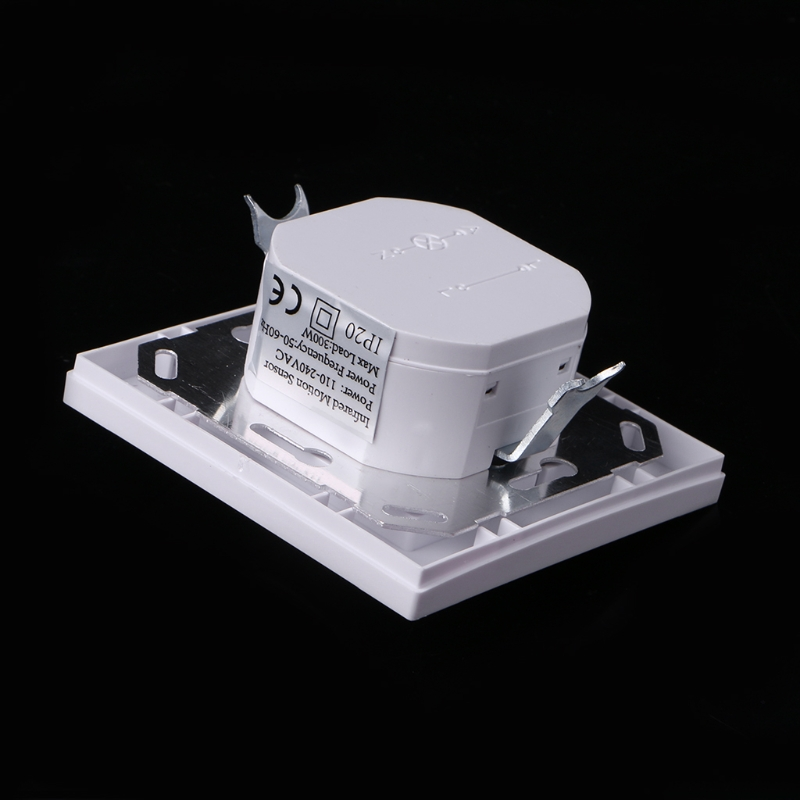 AC 110V-240V Infrared PIR Motion Sensor Recessed Wall Module Light Switch