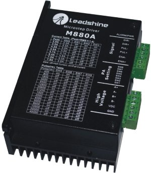 New Leadshine MA880  2-phase microstepping Drive work parameter 80 VDC 1.8A to 7.8A for Associated products 86HS45/86HS85