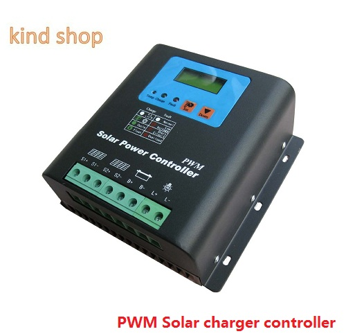 PWM Solar charger controller 30A 12V/24VDC Automatic identification for solar system