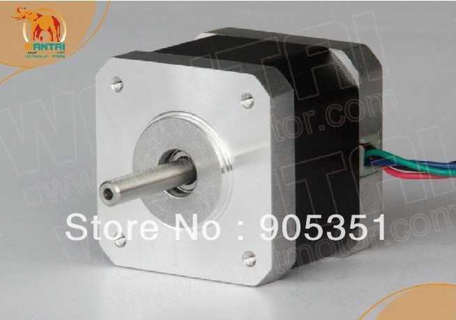 4Axis Cnc Nema17 Wantai stepper motor 4200g.cm,1.7A.0.9 degree & 1.7A,12-36VDC,128 Mill driver