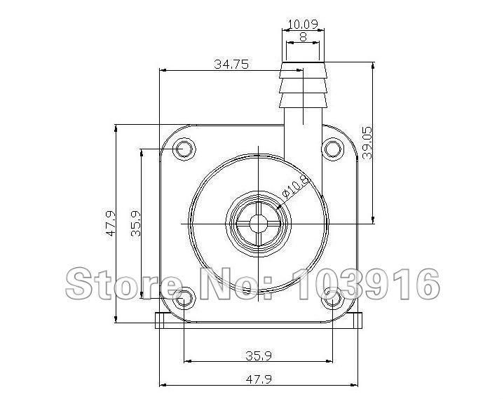 10 Pcs Of 12v Dc Brushless Pump Micro Circulation System Hot
