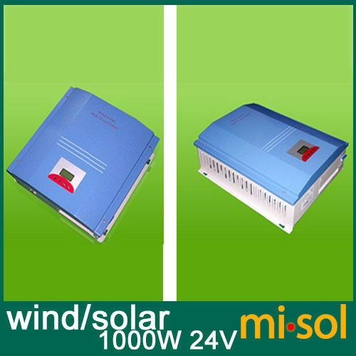 Hybride Wind Solar controller 1000W Regulator, 24V, wind regulator