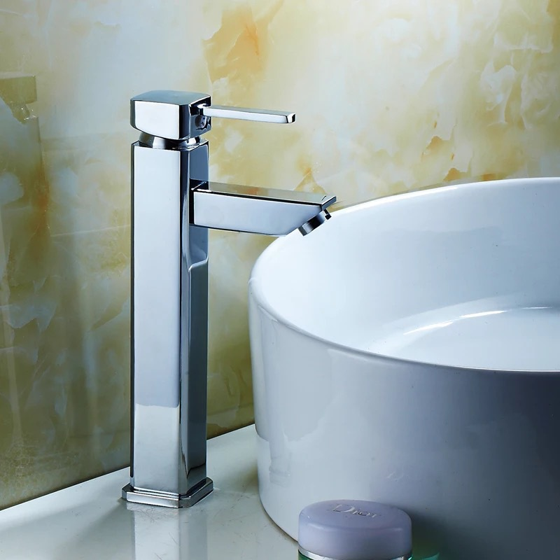 BAKALA Copper Hot and Cold Mixer Water Tap Basin Kitchen Bathroom Wash Basin Faucet G-8046