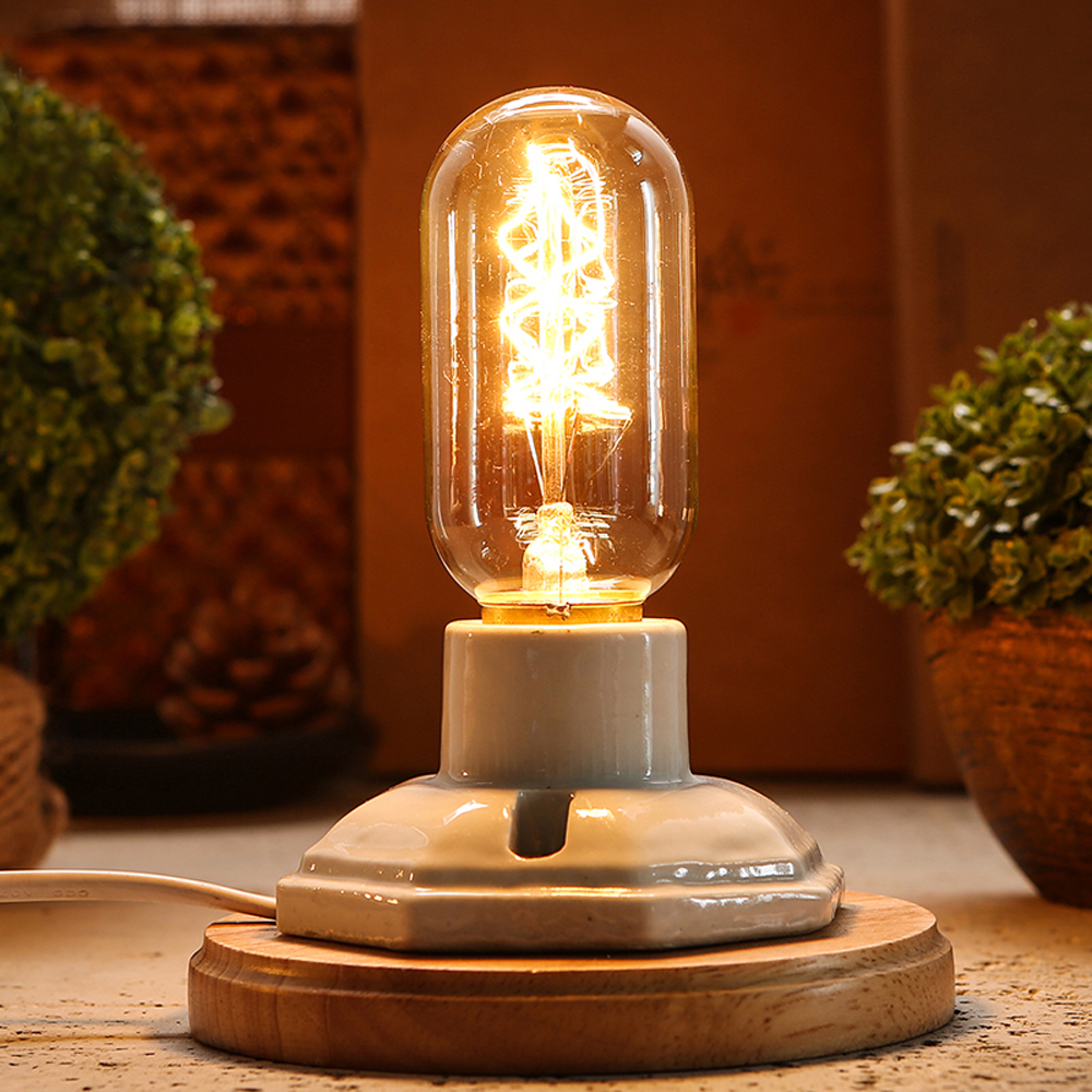 10pcs Incandescent Bulbs E27 220V Bulb Luminaria Carbon Filament Vintage Retro Lamp 40W Lampada Edison Christmas Home Lighting