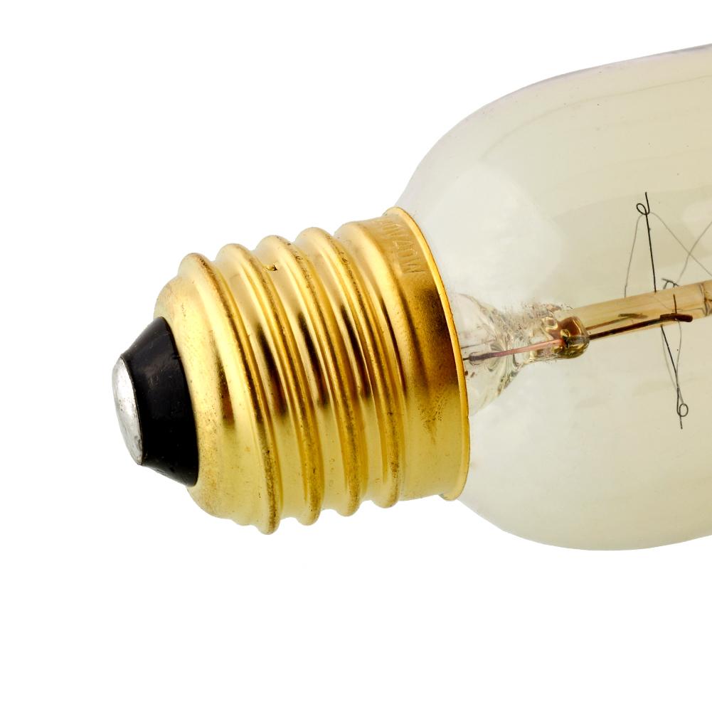 Buy Incandescent Bulb E27 40w Ac 110v T45 Tungsten: Retro Lamp T45 E27 40W/220V Vintage Edison Bulb Tungsten