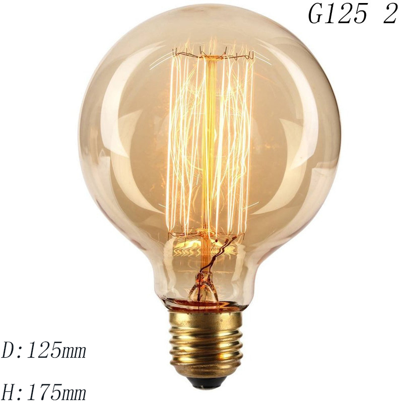 Antique-Vintage-Retro-Edison-Light-Bulbs-220V-E27-40W-Incandescent-Light-Bulbs-ST64-G80-G95-T10