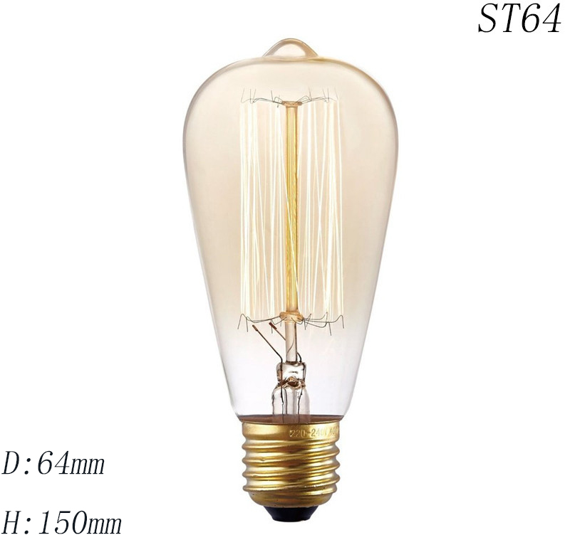 Antique-Vintage-Retro-Edison-Light-Bulbs-220V-E27-40W-Incandescent-Light-Bulbs-ST64-G80-G95-T10 (2)