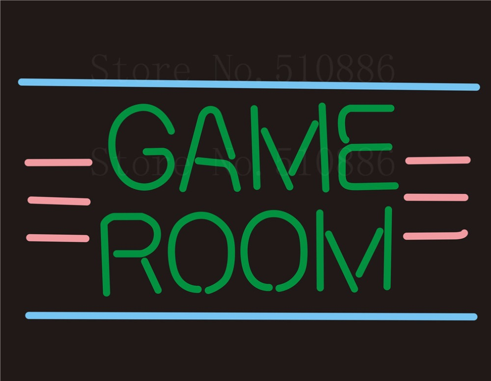 Custom NEON SIGNS board For Game Room restaurant Store REAL