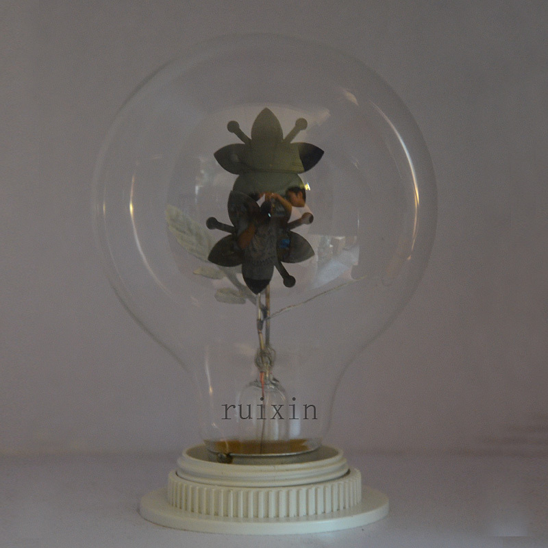 G80 E27  Flame Light Edison Retro Industrial  Sunflowers  Bulb Decorative lighting Party Bulb