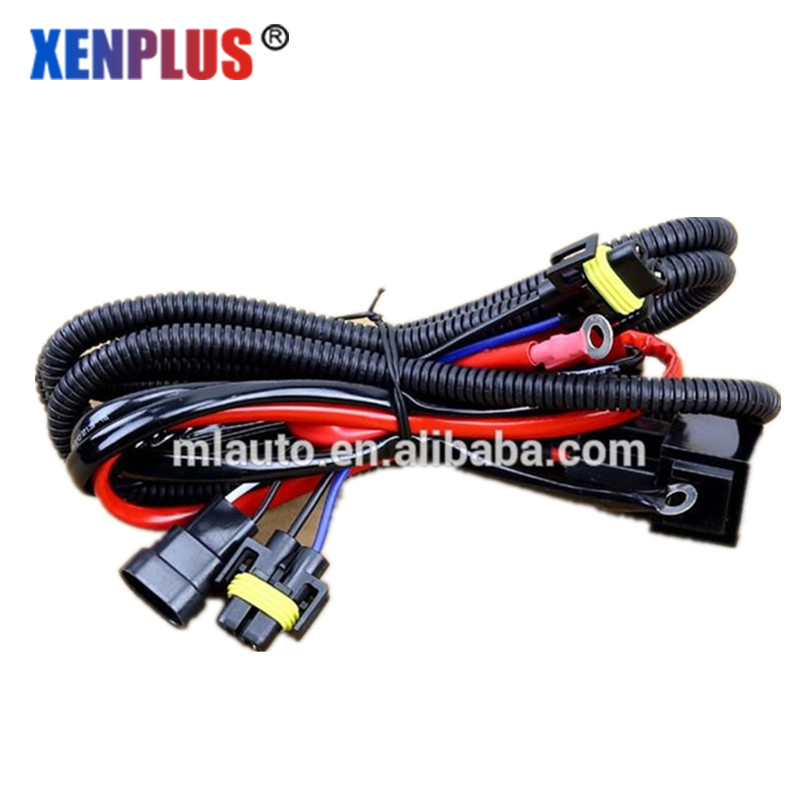Hi/lo function HID Bi xenon wiring H11 fog lamp harness for ... on