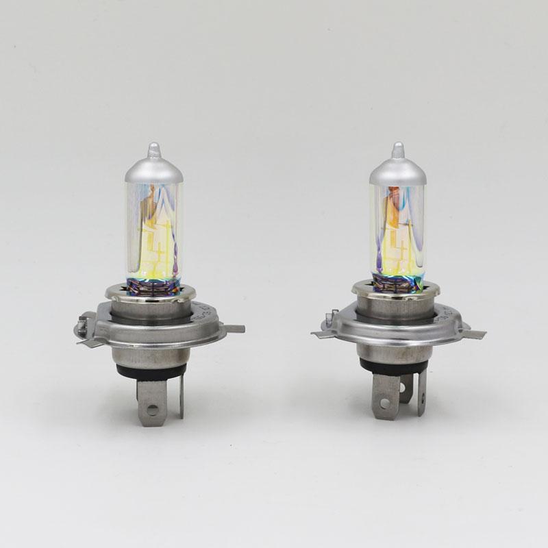 New H4 Halogen 60 55w Rainbow Xenon Head Lamp Bulbs Halogen Bulb