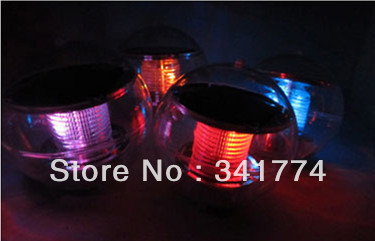 Luz De LED Solar Ball Underwater Pond Lawn Path Wall Lamps Hyundai Solaris Driveway Garland For Garden Outdoor Decoration